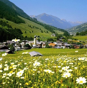 Saalbach during Summer